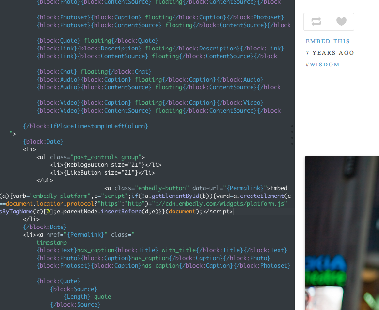 Increase the reach of your Tumblr posts with the Embed